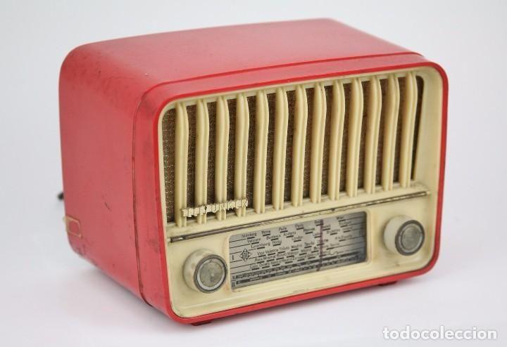 Antigua Radio de Válvulas - Telefunken. Panchito U-1915 - Color Rojo - Años 60 - Foto 1