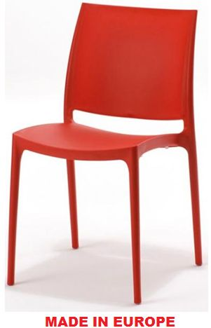 Restaurant Chairs - Red Maya Chair - #Restaurant #Chairs #OutdoorChairs #Indoor Chairs http://www.hoskit.com.au/Furniture/Restaurant-Chair/Maya-Chair/