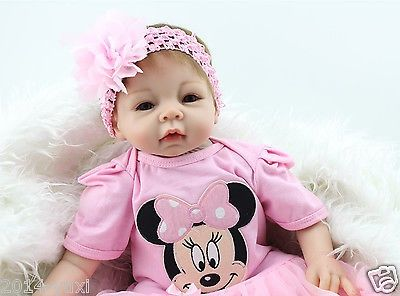 nice Reborn Baby Doll 22 Soft Vinyl Handmade Lifelike Adorable Newborn Baby Doll - For Sale Check more at http://shipperscentral.com/wp/product/reborn-baby-doll-22-soft-vinyl-handmade-lifelike-adorable-newborn-baby-doll-for-sale/