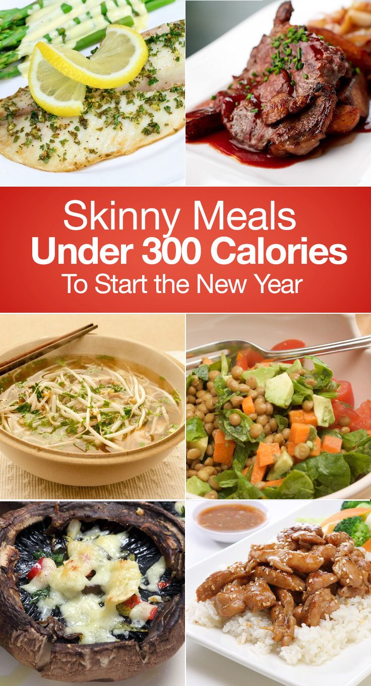 Skinny Meals Under 300 Calories To Start the New Year #resolutions #weightloss #mealprep