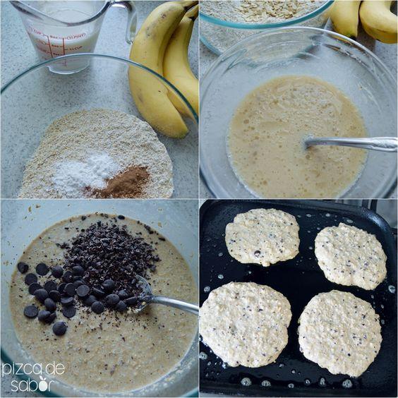 Hot cakes o panquecas veganas y sin gluten   http://www.pizcadesabor.com/2014/01/28/hot-cakes-o-panquecas-veganas-y-sin-gluten/