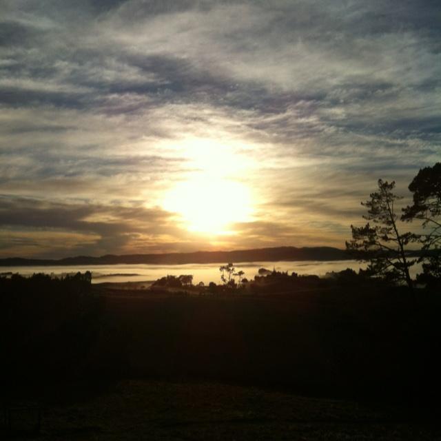 A mid June sunrise
