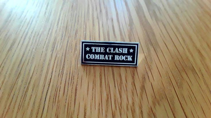 The Clash - Combat Rock badge