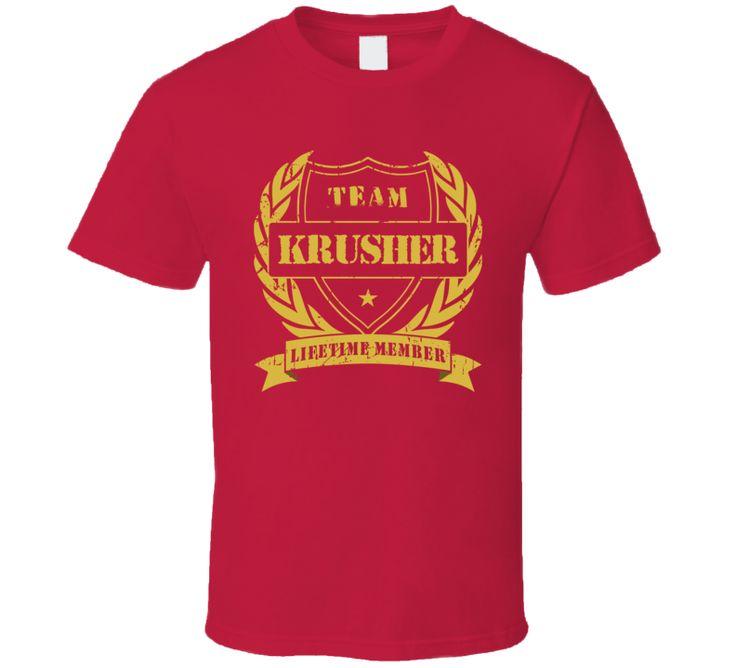 Sergey Kovalev Team Krusher Lifetime Member Boxing T Shirt
