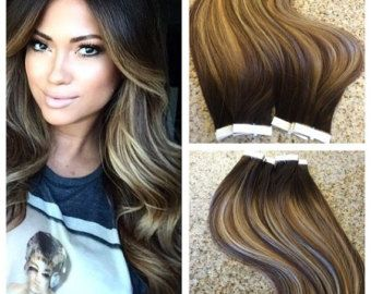 25 unique glue in hair extensions ideas on pinterest diy hair 5 star ombre balayage cuticle remy human hair keratin fusion tape in seamless weft hair extensions 100grams pmusecretfo Choice Image