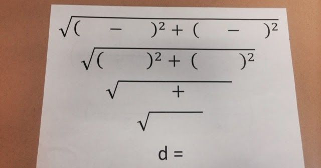 Just Wanted To Share An Easy Way To Get Your Students To Practice The Distance Midpoint Formulas Print Off A Class S Midpoint Formula Midpoint Teaching Math