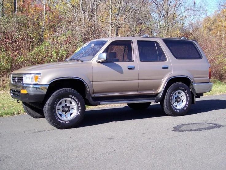 1995 Toyota 4Runner SR5.