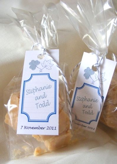 fudge wedding favours - Google Search
