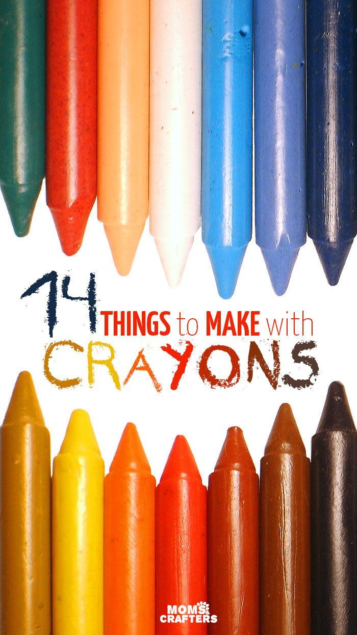 Look What You Can Make With Crayons Things To Make