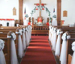 church decorations for wedding | ... / Floral Decoration for Wedding Hall / Venue , Church, Mandap etc