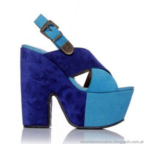 Sofia Sarkany 2013 zapatos, sandalias moda.