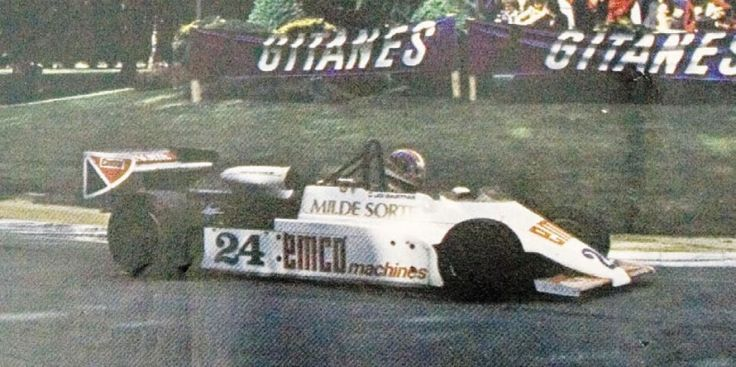 Jo Gartner - Spirit 201B BMW/Heidegger - Emco Sports - XLIII Grand Prix Automobile de Pau 1983