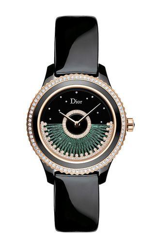 "Dior Viii Grand Bal ""Fil De Soie"" by DIOR TIMEPIECES for Preorder on Moda Operandi"