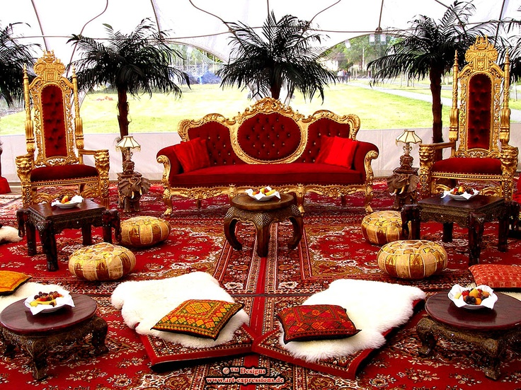 39 best orientalische indische asiatische lounge bereiche orient deko mieten fuer events. Black Bedroom Furniture Sets. Home Design Ideas