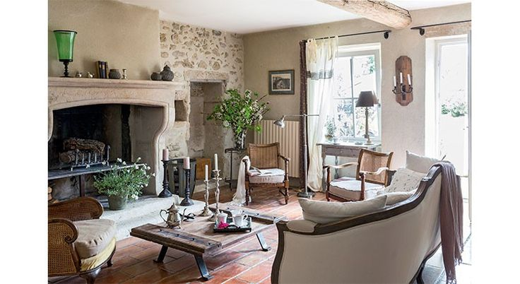 Indoor Deco besuchen dieses schöne Bauernhaus in unkonventionelle, schicke Dekor