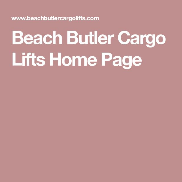 22 best beach house odeas images on pinterest elevator for Beach butler elevator
