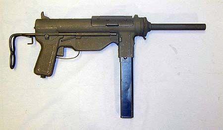 Pistolet Mitrailleur M3 A1 (USA)