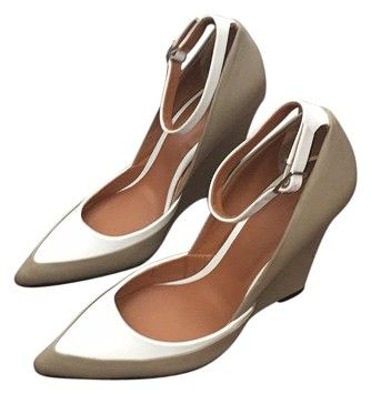 Rachel Roy Rravelli Taupe And White Wedges on Sale, 66% Off | Wedges on Sale at Tradesy