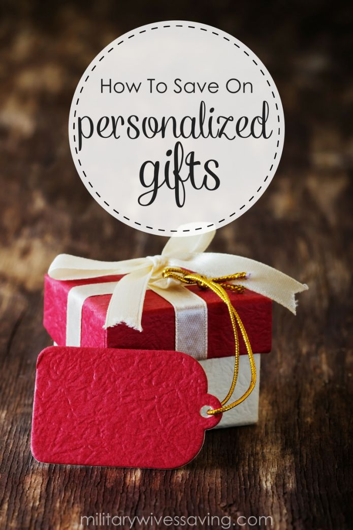 How to save money on personalized gifts! Personalization options can add an additional five to twenty-five dollars to the cost of your item. Thankfully, there are some great ways to save money on personalized gifts.