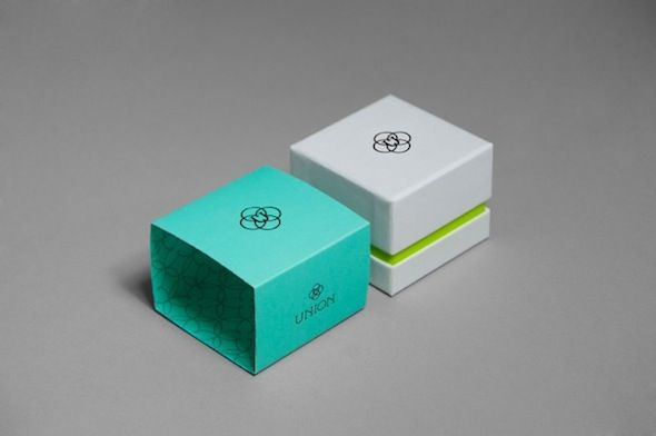 Modern jewellery box...can maybe get something like this done with company online and bulk print logo onto box. would be cheaper but would have to purchase a large number.