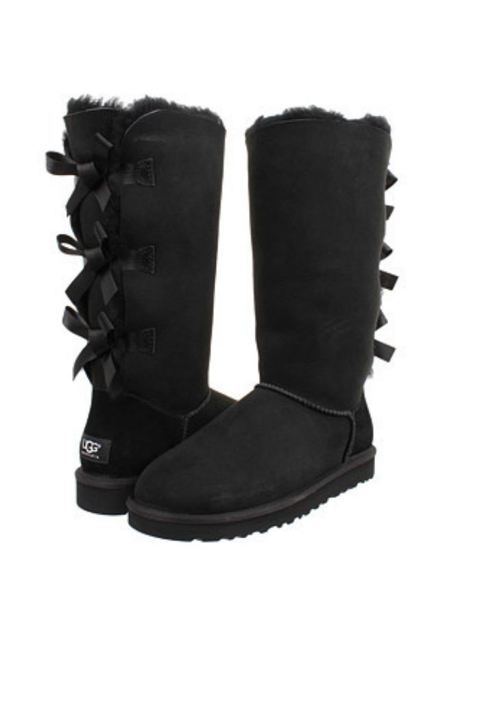 W UGG Bailey Bow Tall - Black