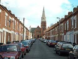 Frederick Road raising to St Saviours church