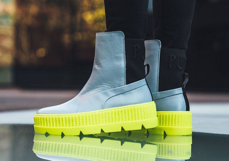 #sneakers #news  Rihanna And Puma Set To Release The FENTY Chelsea Sneakerboot