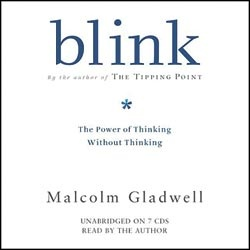 "blink: Blink is all about how business leaders do not understand how to make decisions.  Bestselling author Malcolm Gladwell explains that great decision makers aren't necessarily those who process the most information or spend the most time deliberating choices, but those who have perfected the art of ""thin-slicing""and those who filter out only the important factors."