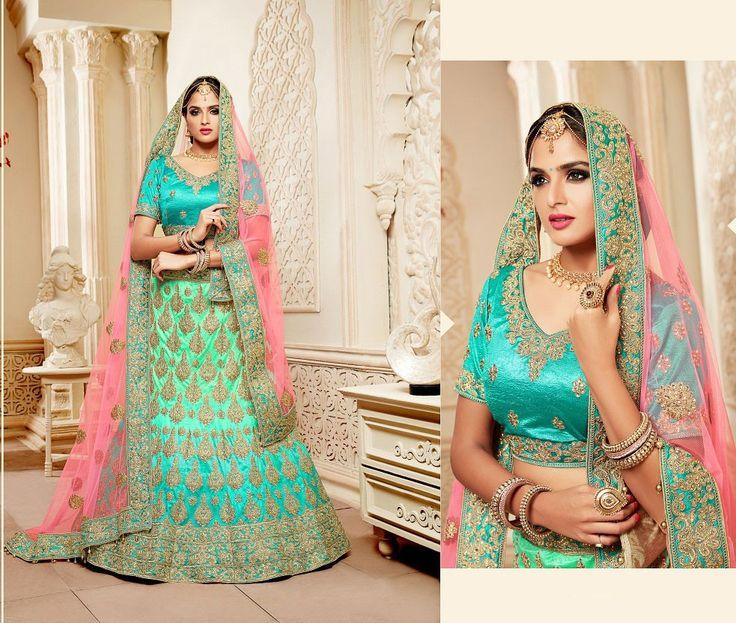 Rajwadi Bridal Lehenga Choli