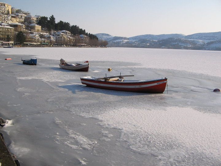 Νότια παραλία Καστοριάς