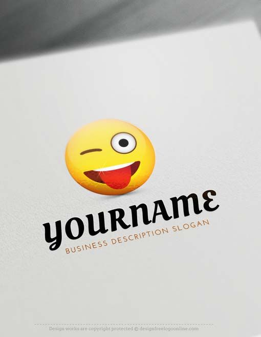 Creating Crazy Emoji Logos with the best of the Logo Makers is fast and very easy. Browse our pre-made templates gallery, we have 1,000's of ready-made cool logos to choose from.