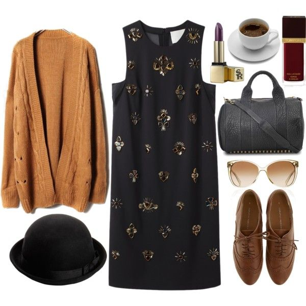 """I dipped my cigarette and rode the bus."" by elizabethcarter on Polyvore"