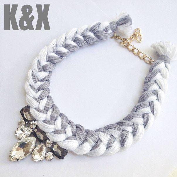 Vegas Grey  112 USD Made in Ukraine. Ready to order! #onlinestore #kxfashion #statementnecklace #ukraine #odessa #rainbow #kxvegas #grey #necklace #fashion #Jewelry #glam #fashion #handmade