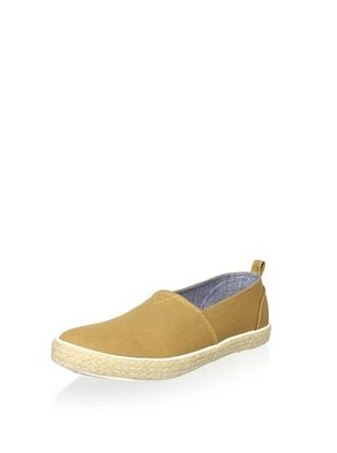 Generic Surplus Men's Slip-On Canvas Sneaker (Bone Brown)