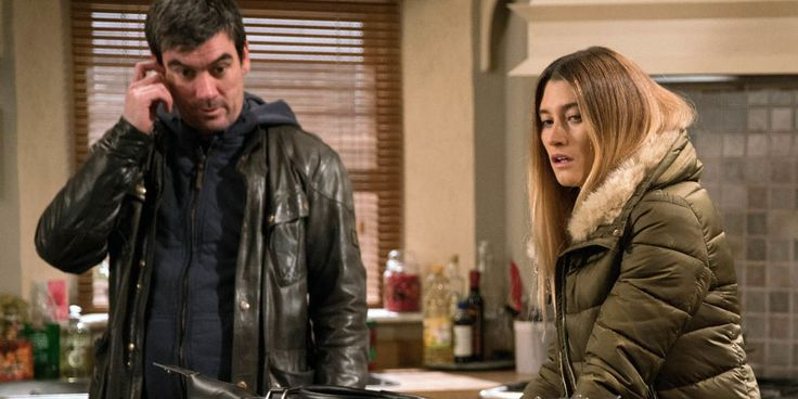 EMBARGO 24/1 Debbie tells Cain that she's moving in with Moira in Emmerdale