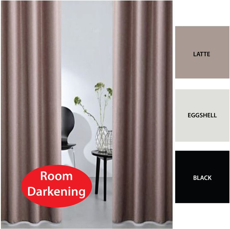 Quickfit Blinds and Curtains - BOND Room Darkening Soft Drape Eyelet Curtains Avail in 2 Sizes LATTE, $59.00 (http://www.quickfitblindsandcurtains.com.au/bond-room-darkening-soft-drape-eyelet-curtains-avail-in-2-sizes-latte.html)
