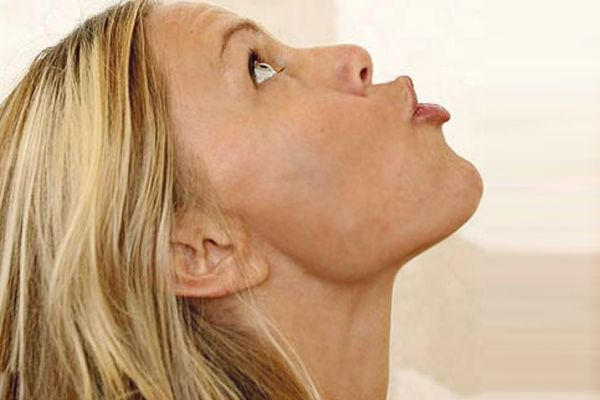 exercise for double chin reduction