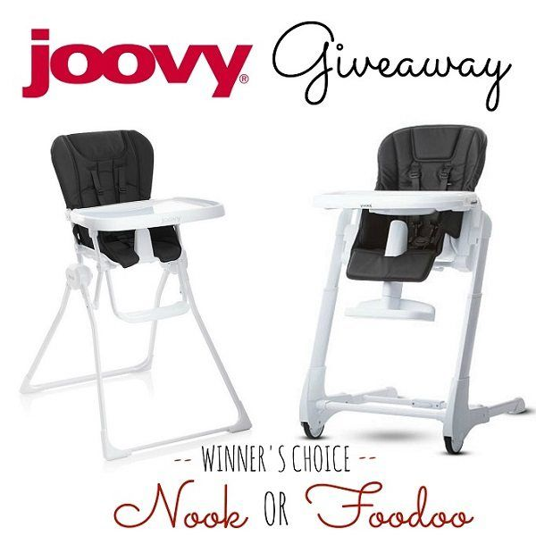 Joovy Highchair Giveaway Winner S Choice Joovy Nook Or Joovy Foodoo With Images High Chair Joovy Chair