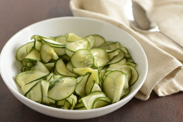Scandinavian Sweet-and-Sour Cucumber Salad | Recipe at Outside Oslo