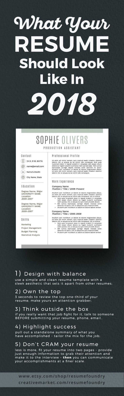 46 best Resume images on Pinterest | Resume, Resume design and ...