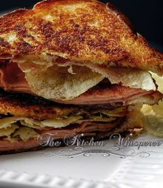Grandma's Pittsburgh Fried Bologna Sandwich