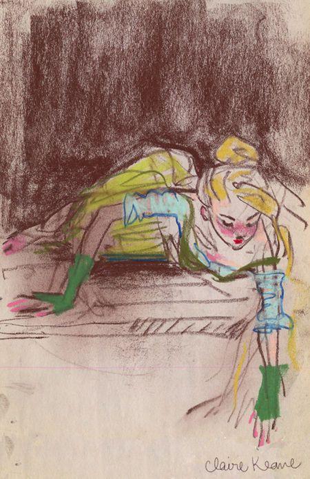 rapunzel_croquis préparatoirs-Claire Keane_Artofdisney