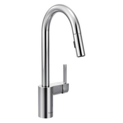 Moen Align Chrome One-Handle High Arc Pulldown Kitchen Faucet - M7565