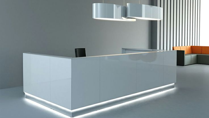 Clear lines light design and the shiny white of Linea