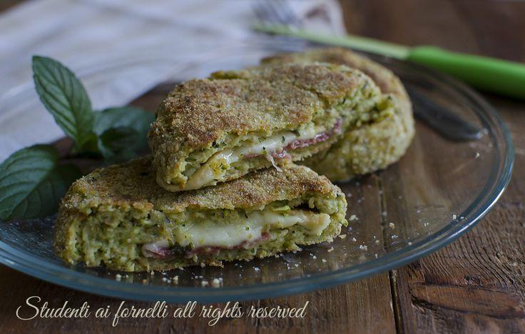 Cotolette zucchine e prosciutto al forno senza frittura