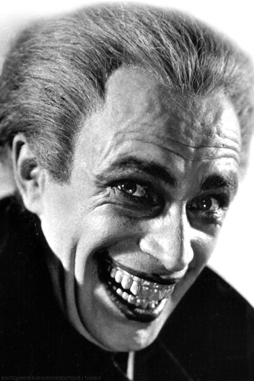 Conrad Veidt in The Man Who Laughs, 1928