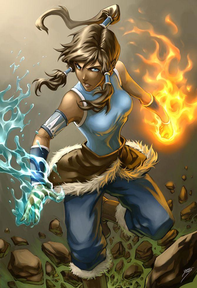 Lindas recriações de personagens da cultura pop Avatar