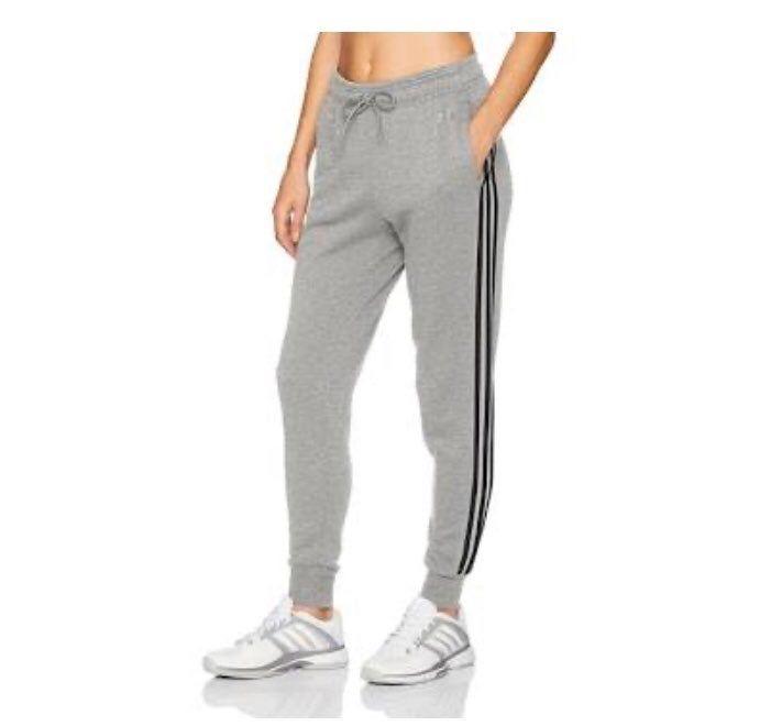 Adidas Pants Regular Tapered Normal Length Adidas, Women's