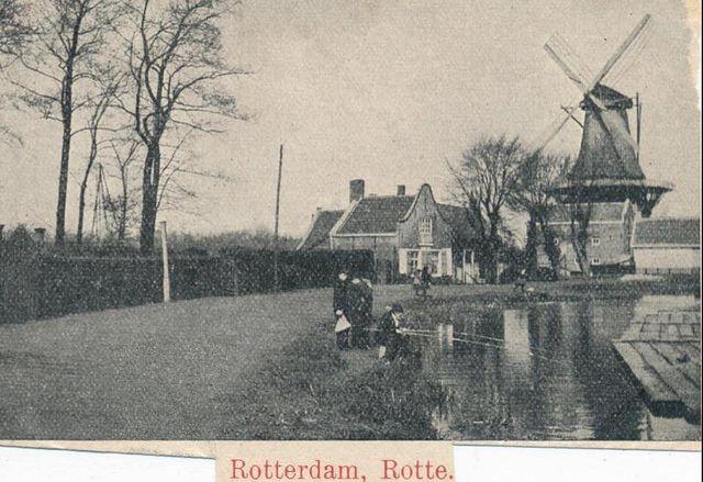 De molen van Koot, Hillegersberg.