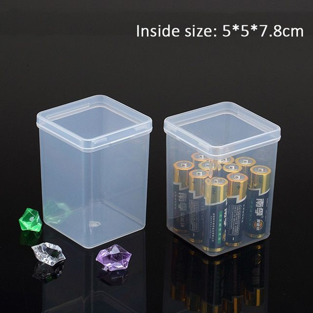 Plastic Box For Storage Battery Small